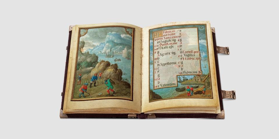 Simon Benings Flämischer Kalender